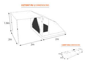 oztent rv-2-tent-and-bag-dimensions-616