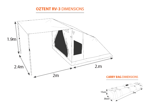 oztent rv-3-tent-and-bag-dimensions-616
